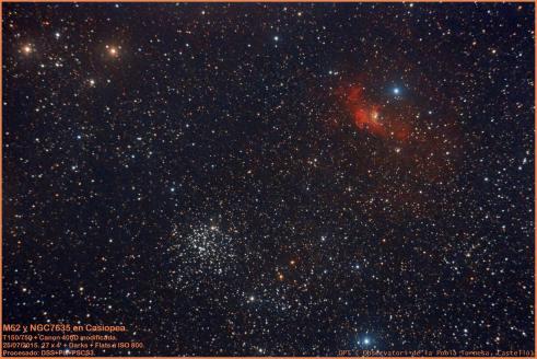 M52+NGC7635