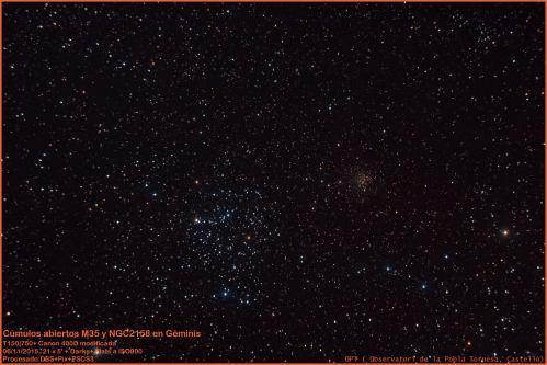 M35andNGC2158