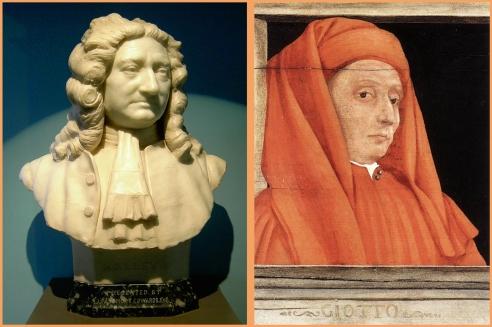 Halley y Giotto, ciencia y arte, unidos por un cometa.