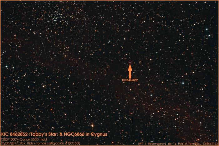 Estrella_Tabby&NGC6866_26052017_20x180segundosAutosavePIXPSCS3GXTHLVGDSNRLCESRB&C_leyenda_resaltada