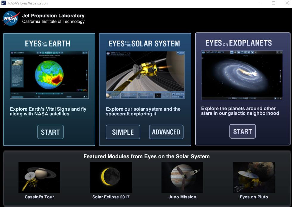 NASAsEyesVisualization