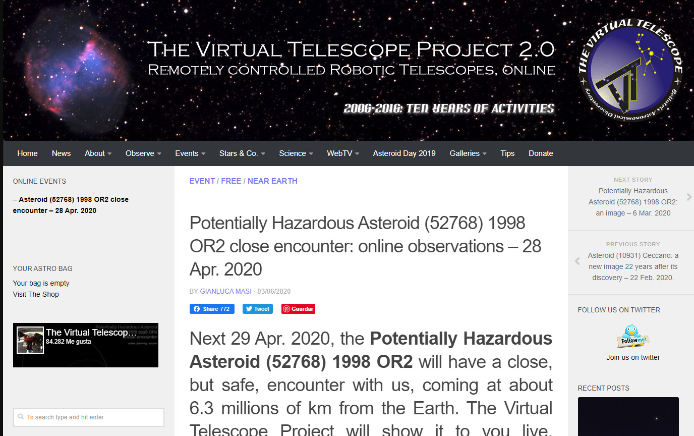 Telescopio Virtual